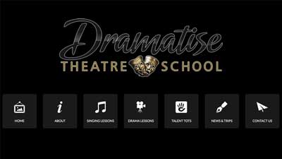 Dramatise Theatre School Website
