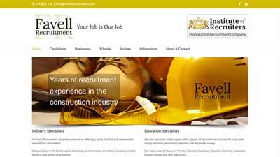 Favell Recruitment Website