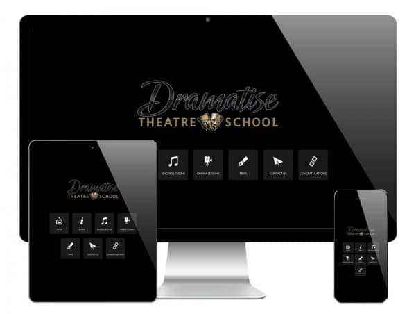 Dramatise WordPress Website