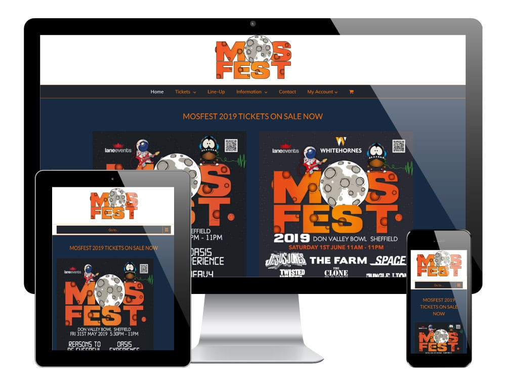 Mosfest WordPress Website
