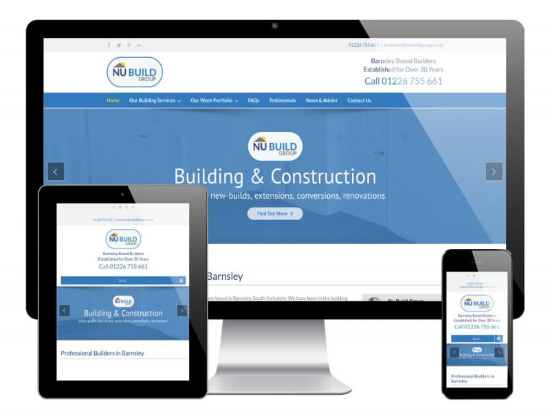 Nu Build WordPress Website