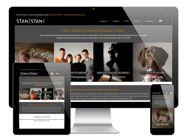 Stan Plus Stan Two WordPress Website