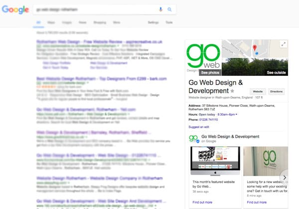 Google My Business New Posts Feature