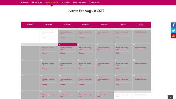 Mencap Sheffield Web Development Project