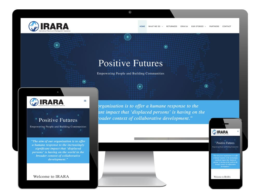 WordPress Website for IRARA, Sheffield