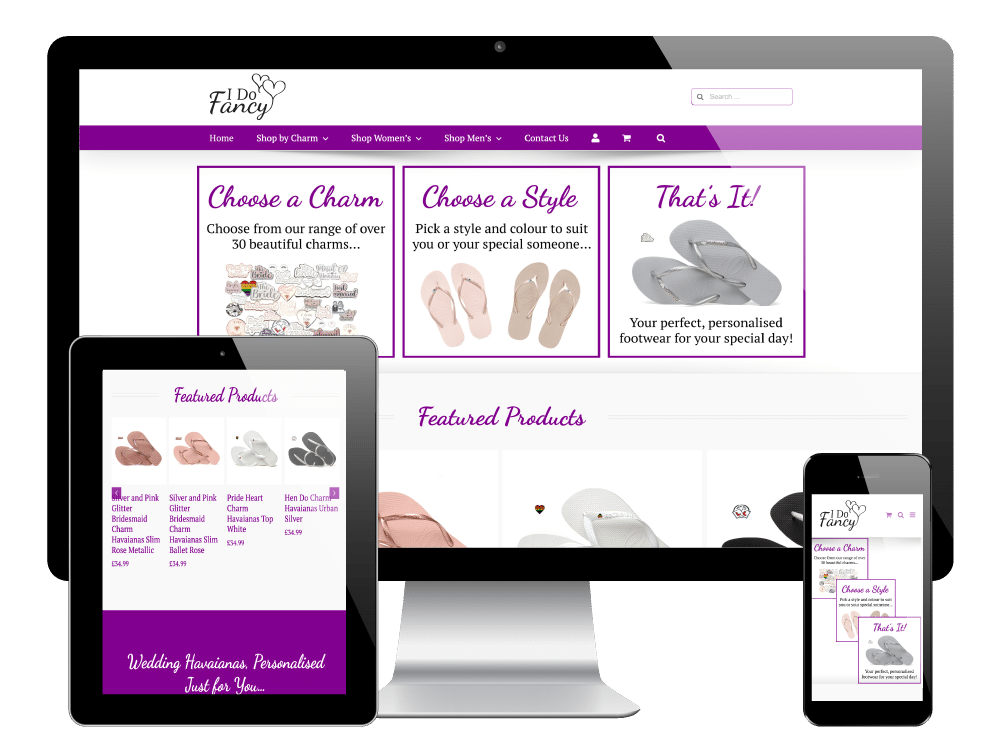I Do Fancy, Sheffield - WordPress Ecommerce Website