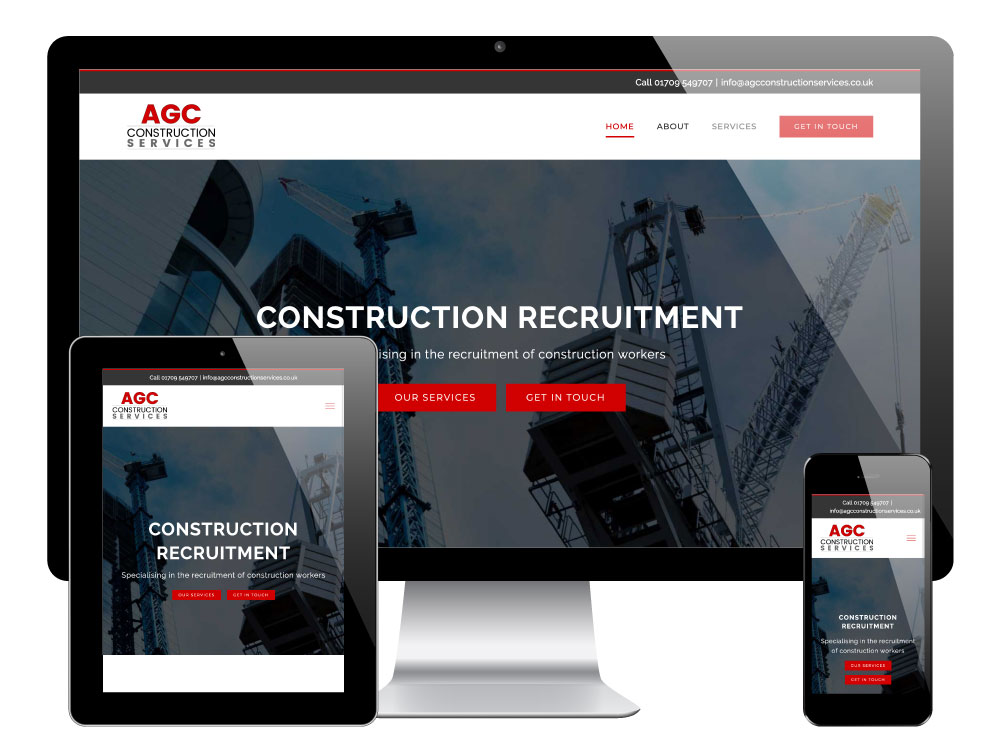 AGC Construction Services | WordPress Website by Go Web Design & Development