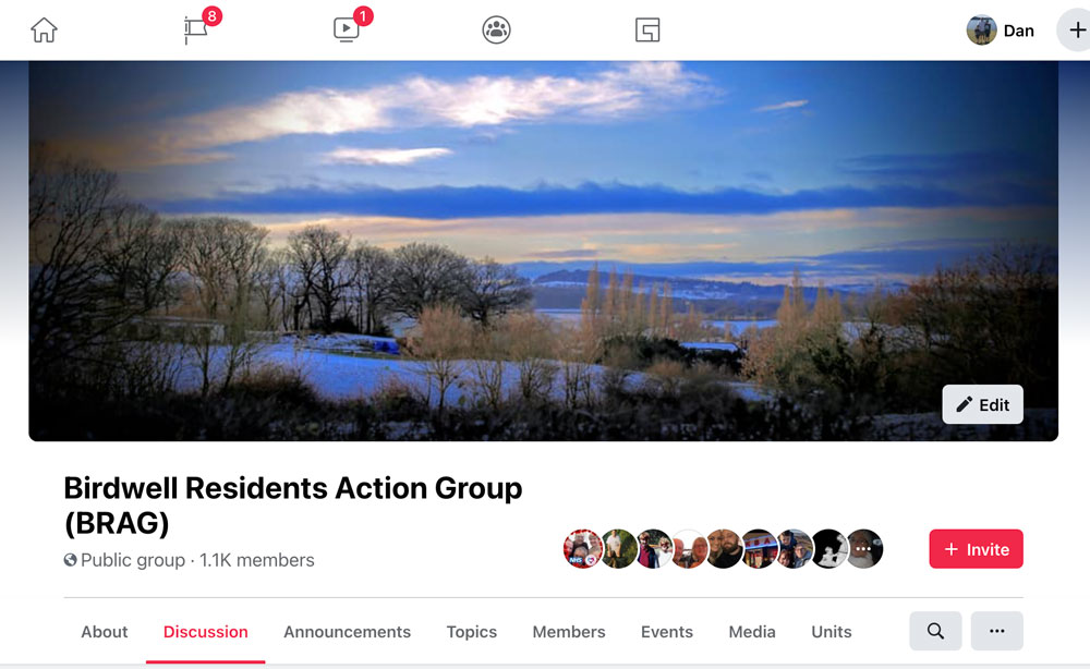 Helping Local Community - Birdwell Residents Action Group