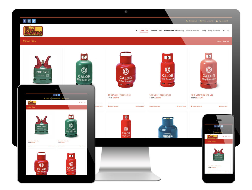 Fuelmasters Barnsley - WordPress Website
