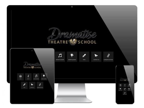 Dramatise WordPress Website
