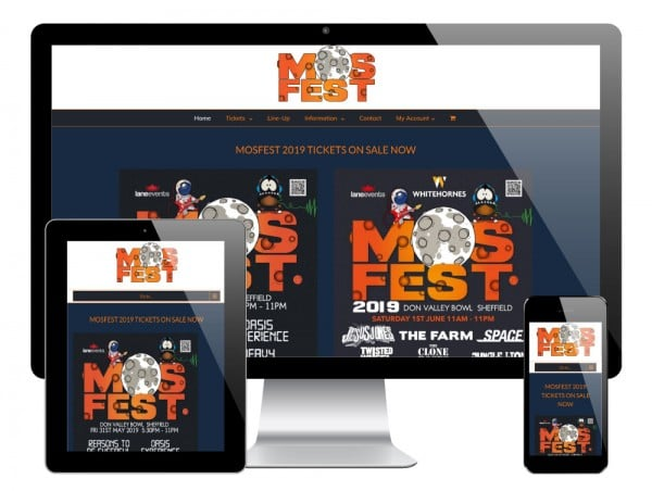 Mosfest WordPress Website