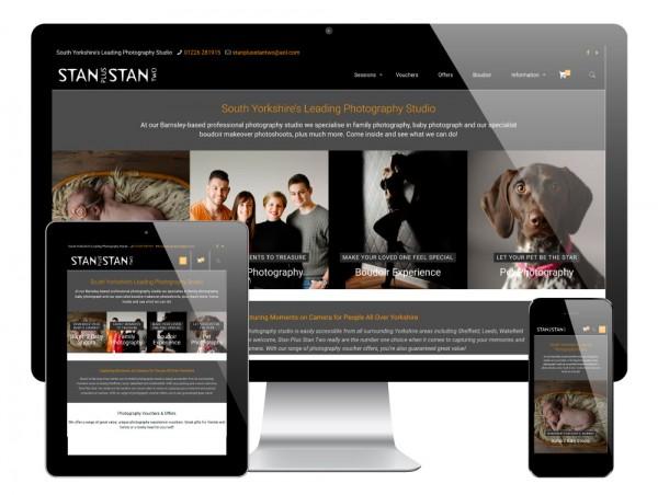 Stan Plus Stan Two WordPress Website