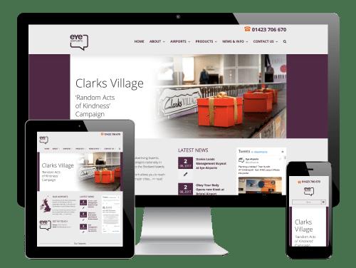 Eye Airports, Harrogate - Responsive WordPress Website