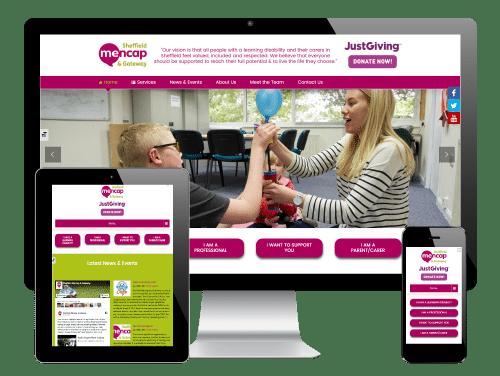 Mencap Sheffield - Responsive WordPress Website