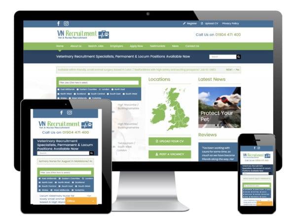 VN Recruitment WordPress Website